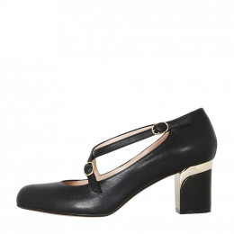 Louise Calf Black Shiny