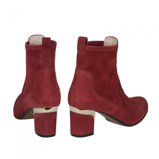Margaux Suede Carmine Red