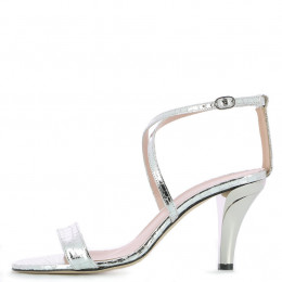 Nath Silver Printed Leather